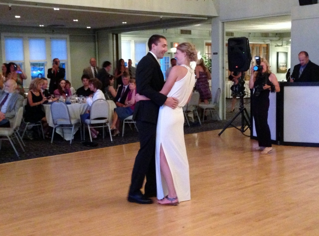 *First dance!* So sweet!