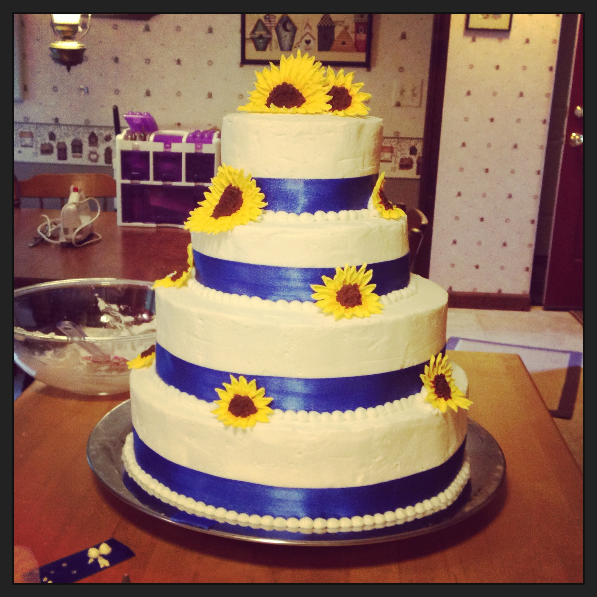 My Best Friend's Wedding Cake – Making My First Wedding