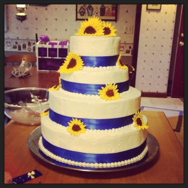 Amy's wedding cake!